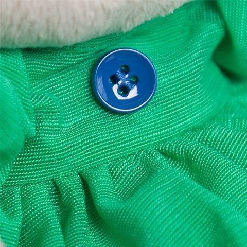 Large Zayka Mi V Zelenom Platie S Babochkoy  2