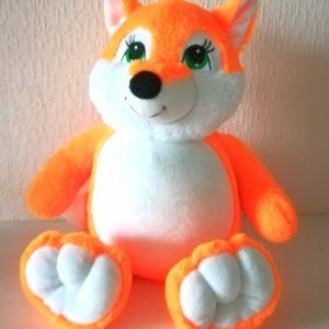 Лисичка именная игрушка